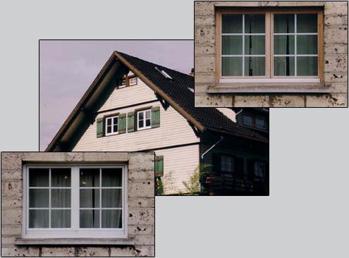 Sprossenfenster beispiele  Alufen :: Das Renovierungssystem für Ihre Holzfenster ::